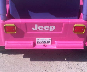 jeep, pink, and car image