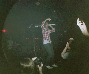 concerts, drugs, and fisheye image