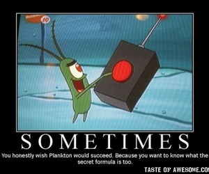 funny, plankton, and spongebob image