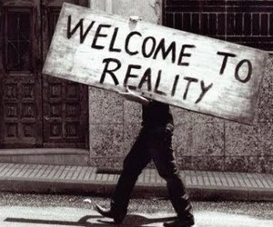 reality, welcome, and black and white image