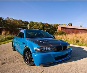 car and bmw m3 e46 image