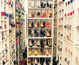 Dream, luxury, and shoe closet image