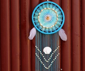 blue, dream catcher, and hand made image