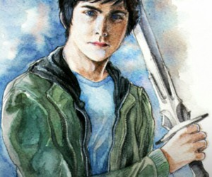 percy jackson and percy image