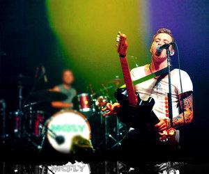 concert, danny jones, and guitar image
