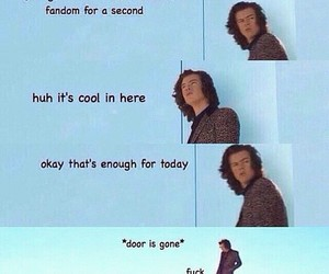 one direction, Harry Styles, and fandom image