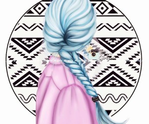 girly_m, hair, and art image