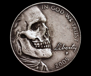 coin and skull image
