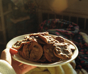 Cookies, food, and vintage image