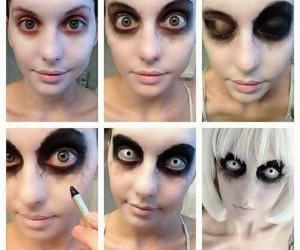 Halloween, makeup, and diy image
