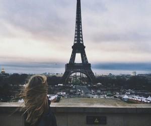 paris, girl, and beautiful image