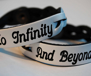 infinity, bracelet, and beyond image