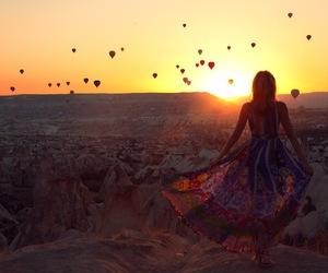 cappadocia, dress, and fashion blogger image