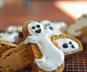 ghost, Halloween, and food image