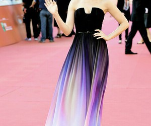 dress and lily collins image
