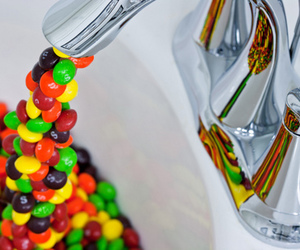 yummy, m&m's, and candy image