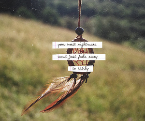 quote, dreamcatcher, and Dream image