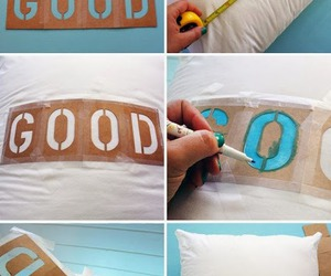 good, diy, and pillow image
