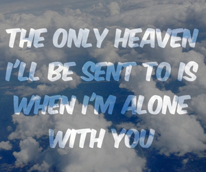 alone, heaven, and sky image