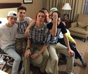 sam pottorff, cameron dallas, and taylor caniff image