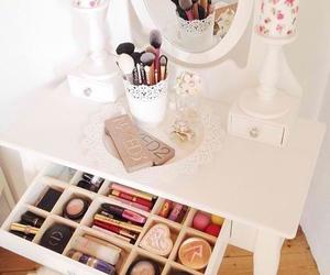 makeup, girly, and make up image