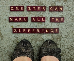quote, difference, and step image