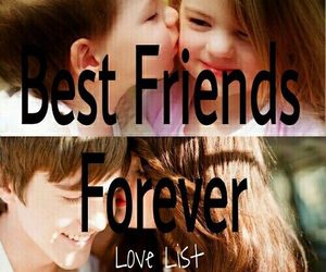 forever, friendship, and love image