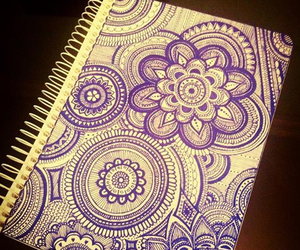 art, draw, and diary image