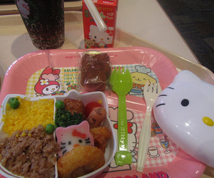 bento box, characters, and container image