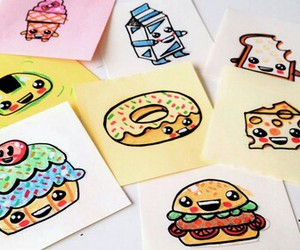 food, drawing, and draw image