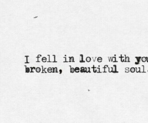 love, soul, and broken image