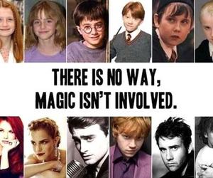 harry potter, magic, and emma watson image