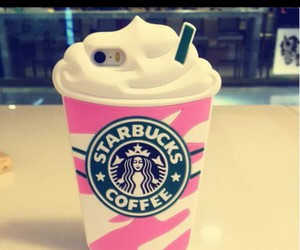 starbucks, cases, and pink image