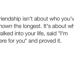 friendship, love, and quote image