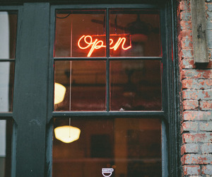 open, vintage, and photography image