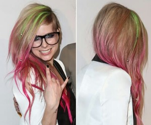 Avril Lavigne, color, and hair color image