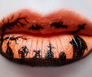 Halloween, lips, and makeup image
