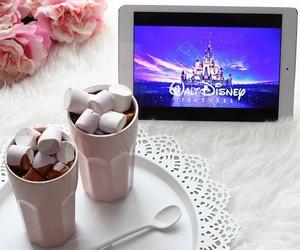 disney, marshmallow, and chocolate image