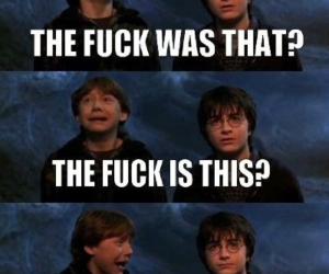 ronald weasley, harry potter, and lol image
