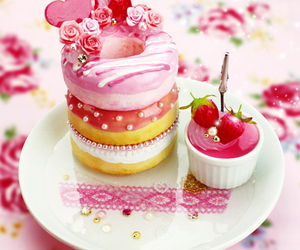 cakes, sweet, and yummy image