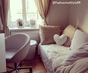 bedroom, girly, and decoration image