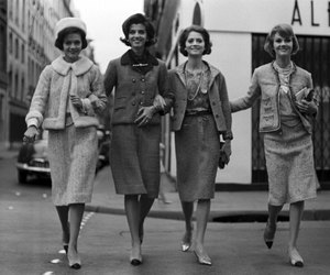 girls, style, and vintage image