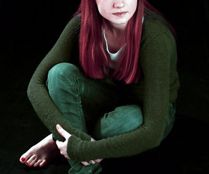 actress, bonnie wright, and harry potter image