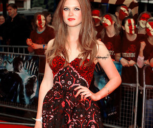 actress, bonnie wright, and ginny weasley image