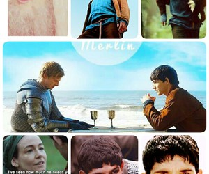 amore, bradley james, and colin morgan image