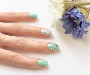 art, manicure, and Maybelline image