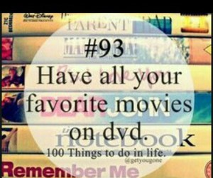 dvd, favorite, and films image
