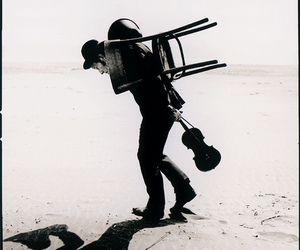 music, tom waits, and violin image