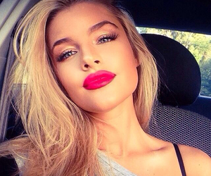 blonde, beauty, and lips image