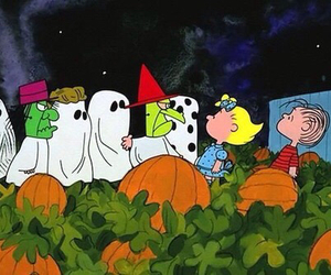 Halloween, charlie brown, and peanuts image